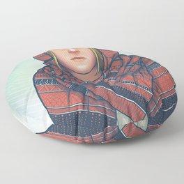 Not So Red Riding Hood Floor Pillow