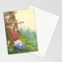 The Sleeping Gnome Stationery Cards