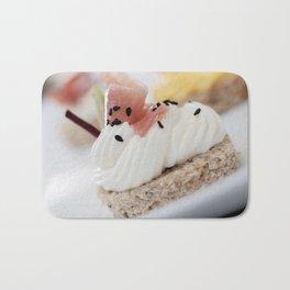 Cake dessert chocolate cream sweet Bath Mat