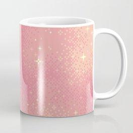Rose Gold Galaxy Coffee Mug