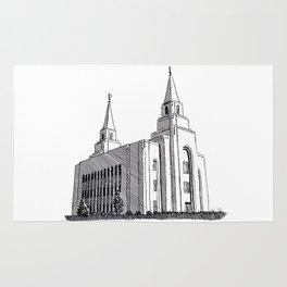 Kansas City LDS Temple Rug