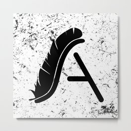 A for spartA Metal Print