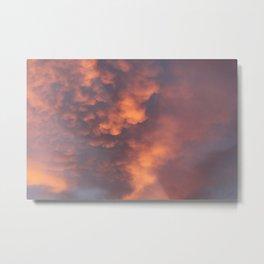 Clouds :) Metal Print
