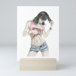 Seduce girls Mini Art Print