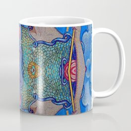 Minerva Goddess Of Wisdom Surreal Pop Art 1 Coffee Mug