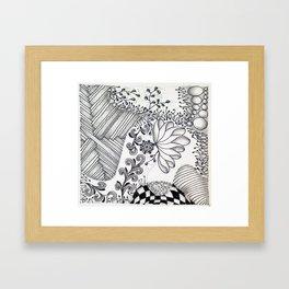 Zen in the Garden Framed Art Print