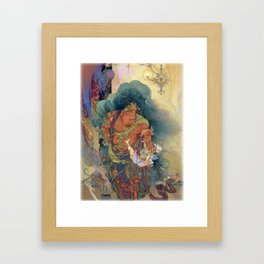 "UKIYOE ""Niou Sokki"" Framed Art Print"