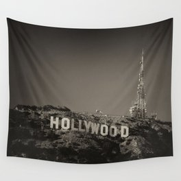 Vintage Hollywood sign Wall Tapestry