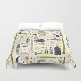The Witch's Collection Duvet Cover