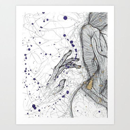 A Little Closer, A Little Further Away Art Print