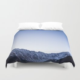 Daylight Moon Ridge Duvet Cover