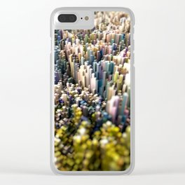 Abstract Topography - Rome Clear iPhone Case