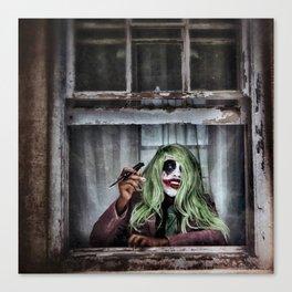 Joker Cosplay 4 Canvas Print