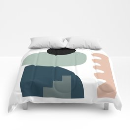 Shape study #18 - Stackable Collection Comforters