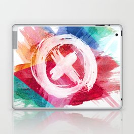 painted cross 2.0 Laptop & iPad Skin