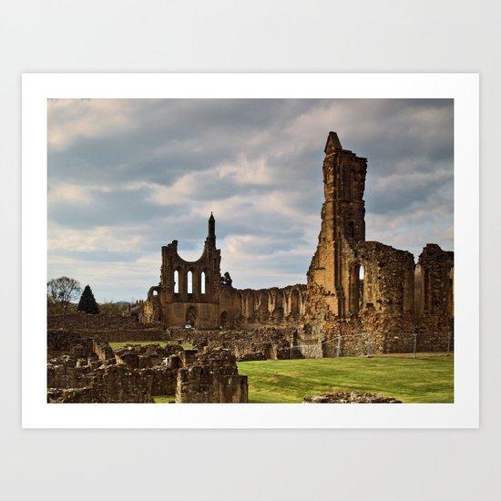 Byland Abbey 2 Art Print