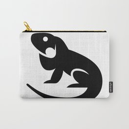 Iguana Silhouette Carry-All Pouch