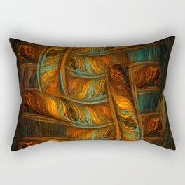 Abstract Totem Rectangular Pillow