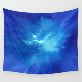 Blue Powder Wall Tapestry