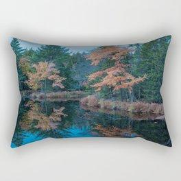Mersey Road Reflection Rectangular Pillow