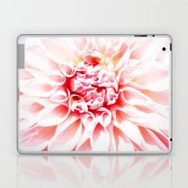 Pale Pink Dahlia Laptop & iPad Skin
