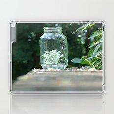 Queen Anne's Lace/Jar w/ bokeh Laptop & iPad Skin