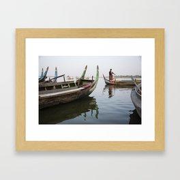 VENICE IN BURMA Framed Art Print