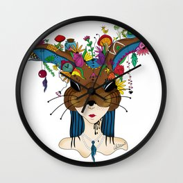 Kokeko - Masquerade Collection Wall Clock