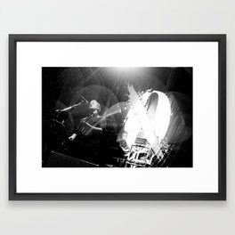 Josh Homme (Queens of the Stone Age) - I Framed Art Print