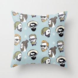 So Hip Throw Pillow