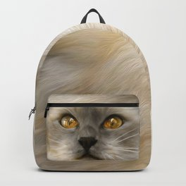 """Cute Kitty (Love cats)"" Backpack"