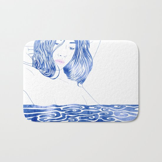 Water Nymph LXXXI Bath Mat