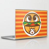 pagan Laptop & iPad Skins featuring Pagan Burger by Pagan Holladay