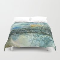 lake Duvet Covers featuring Lake by Iris V.