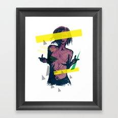 ELECTRO FU2 Framed Art Print