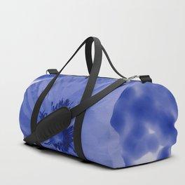 Blue poppy Duffle Bag