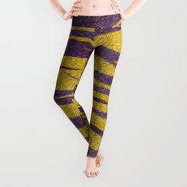 Mardi Gras Bayou Cajun Tiger Skin Leggings