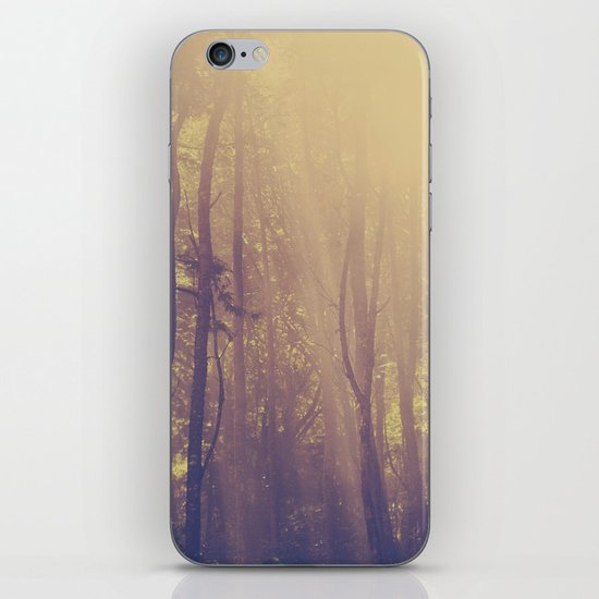 Sunbeams in the Forest iPhone & iPod Skin