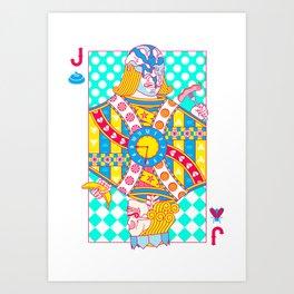 "Jack Shit ""LOST TIME"" Art Print"