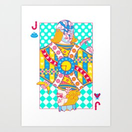 "Jack Shit ""LOST TIME"" Art Print"