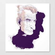 Sam Beckett Canvas Print