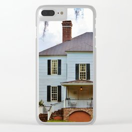 Hopsewee Plantation Clear iPhone Case