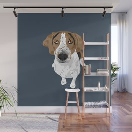 Hank Coonhound Wall Mural