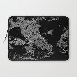 Rio map Brazil Laptop Sleeve
