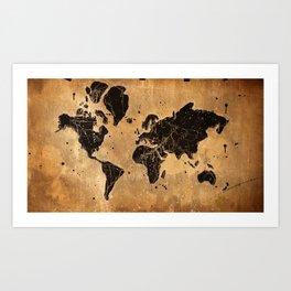 Globalization Art Print