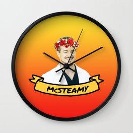 McSteamy Wall Clock