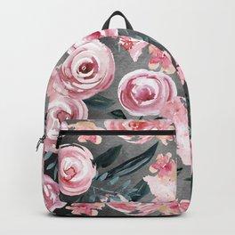 Night Rose Garden Backpack