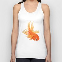 goldfish Tank Tops featuring Goldfish by Ty Foley
