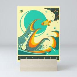 EXPLORE Mini Art Print