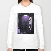 selena gomez Long Sleeve T-shirts featuring Vampire Selena by Asilh87